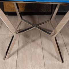 Chrome modernist bench - 1306472
