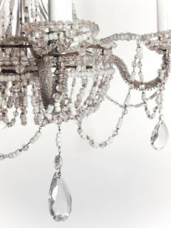 Chrystal and Beaded Chandelier - 484701
