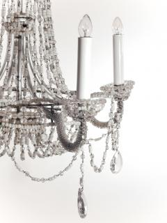 Chrystal and Beaded Chandelier - 484705