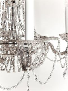 Chrystal and Beaded Chandelier - 484707