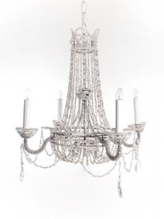 Chrystal and Beaded Chandelier - 484709