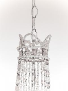 Chrystal and Beaded Chandelier - 484711