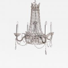 Chrystal and Beaded Chandelier - 496019