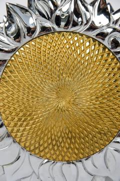 Chrystiane Charles large double sided sunflower shaped door handle by Chrystiane Charles - 1107144