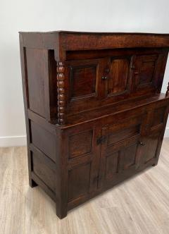 Circa 1620 James I Oak Paneled Cupboard England - 1902741