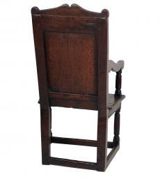 Circa 1680 Charles II Oak Armchair - 2136053
