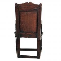 Circa 1680 Charles II Oak Armchair - 2136054