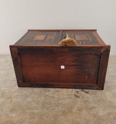 Circa 1720 Continental Mixed Wood Collectors Cabinet - 2134326