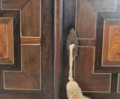 Circa 1720 Continental Mixed Wood Collectors Cabinet - 2134330