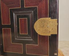 Circa 1720 Continental Mixed Wood Collectors Cabinet - 2134331