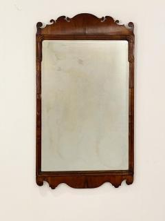 Circa 1740 George I Walnut Mirror England - 1789254
