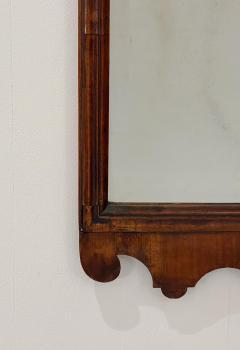 Circa 1740 George I Walnut Mirror England - 1789255