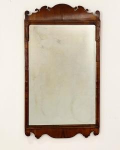 Circa 1740 George I Walnut Mirror England - 1789256