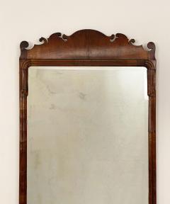 Circa 1740 George I Walnut Mirror England - 1789260