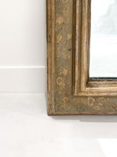 Circa 1750 Venetian Faux Painted Mirror Italy - 1989354