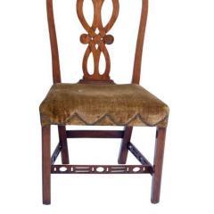 Circa 1770 George III Period Side Chair - 2135646