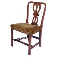 Circa 1770 George III Period Side Chair - 2135652