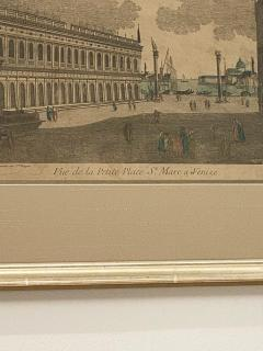 Circa 1770 Vue Optique of Venice France - 1879964