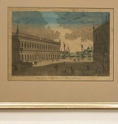 Circa 1770 Vue Optique of Venice France - 1879965
