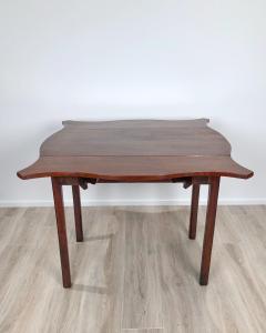Circa 1780 Serpentine Pembroke Table England - 1882328