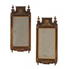 Circa 1790 Danish Mirrors Ex Anthony Hail A Pair - 2073192