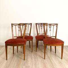 Circa 1790 Set of Four Belgian Louis XVI Chairs - 2005975