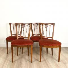 Circa 1790 Set of Four Belgian Louis XVI Chairs - 2005976
