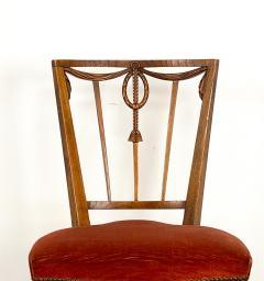 Circa 1790 Set of Four Belgian Louis XVI Chairs - 2005979