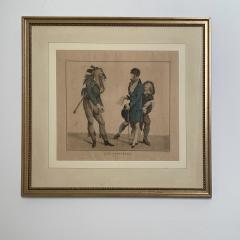 Circa 1797 Les Croyables engraving France - 1849627