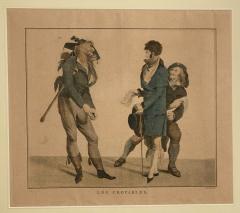 Circa 1797 Les Croyables engraving France - 1849628
