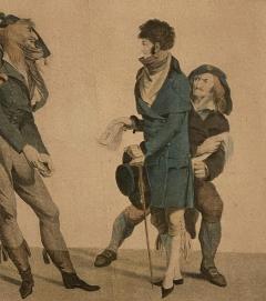 Circa 1797 Les Croyables engraving France - 1849630