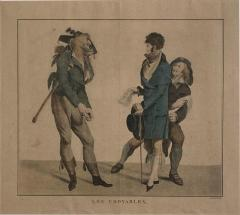 Circa 1797 Les Croyables engraving France - 1849669