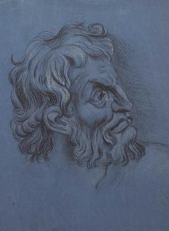 Circa 1800 Baroque Portrait of a Gentleman Italy - 2131783