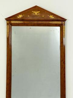 Circa 1810 French Empire Mahogany Mirror - 1792864