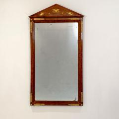 Circa 1810 French Empire Mahogany Mirror - 1792865