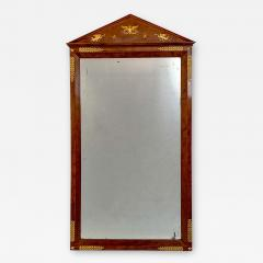 Circa 1810 French Empire Mahogany Mirror - 1793865