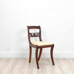Circa 1820 Regency Period Mahogany Chairs England Set of 4 - 2141259