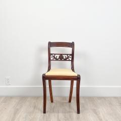 Circa 1820 Regency Period Mahogany Chairs England Set of 4 - 2141260