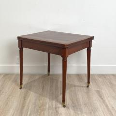Circa 1830 French Cherry Game Table - 2134551