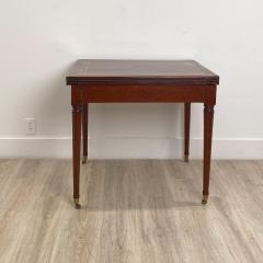 Circa 1830 French Cherry Game Table - 2134553
