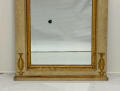 Circa 1830 Large Neoclassical Painted and Giltwood Mirror - 1830635