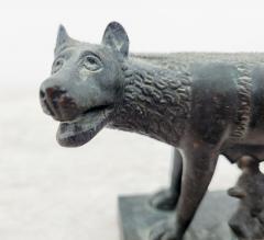 Circa 1860 Grand Tour Bronze of Romulus and Remus - 2074962