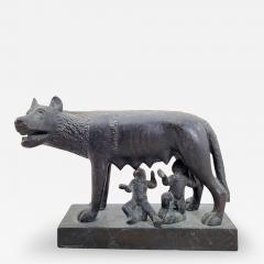 Circa 1860 Grand Tour Bronze of Romulus and Remus - 2075742