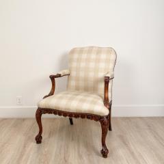 Circa 1870 Chippendale Style Armchair Ireland - 2079862