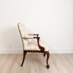 Circa 1870 Chippendale Style Armchair Ireland - 2079864