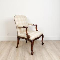 Circa 1870 Chippendale Style Armchair Ireland - 2079865