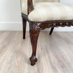 Circa 1870 Chippendale Style Armchair Ireland - 2079866