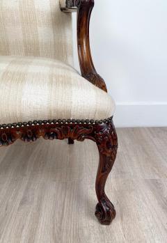 Circa 1870 Chippendale Style Armchair Ireland - 2079868