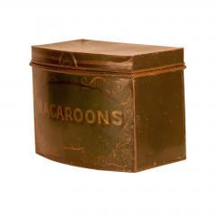 Circa 1870 English Tole Bakery Tins Set of 7 - 2066993