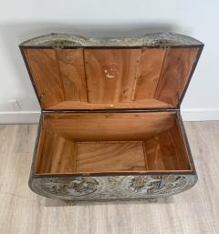 Circa 1880 Carved Camphor Trunk China - 1910949